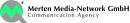 Bild: Logo Merten Media-Netzwork GmbH (öffnet in neuem Fenster)